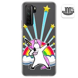 Funda Gel Transparente para  Huawei P40 Lite 5G diseño Unicornio Dibujos