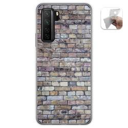 Funda Gel Tpu para  Huawei P40 Lite 5G diseño Ladrillo 02 Dibujos