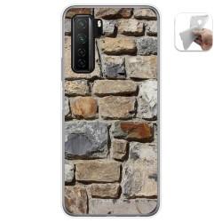 Funda Gel Tpu para  Huawei P40 Lite 5G diseño Ladrillo 03 Dibujos