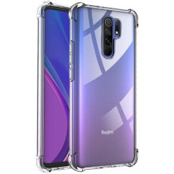 Funda Gel Tpu Anti-Shock Transparente para Xiaomi Redmi 9