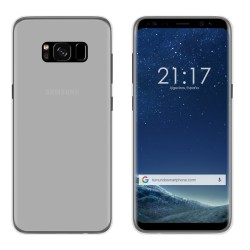 Funda Gel Tpu para Samsung Galaxy S8 Color Transparente