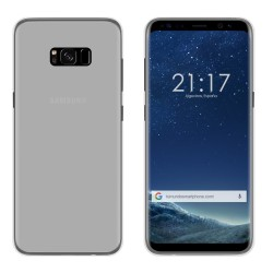 Funda Gel Tpu para Samsung Galaxy S8 Plus Color Transparente