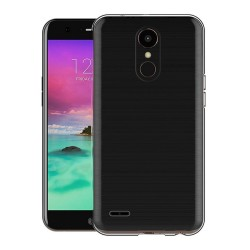 Funda Gel Tpu Fina Ultra-Thin 0,3mm Transparente para Lg K10 2017