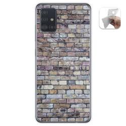Funda Gel Tpu para Samsung Galaxy A51 5G diseño Ladrillo 02 Dibujos