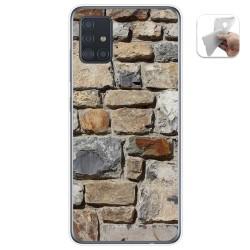 Funda Gel Tpu para Samsung Galaxy A51 5G diseño Ladrillo 03 Dibujos