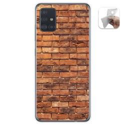 Funda Gel Tpu para Samsung Galaxy A51 5G diseño Ladrillo 04 Dibujos