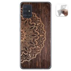 Funda Gel Tpu para Samsung Galaxy A51 5G diseño Madera 06 Dibujos