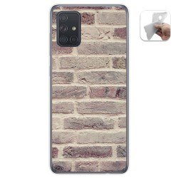 Funda Gel Tpu para Samsung Galaxy A71 5G diseño Ladrillo 01 Dibujos