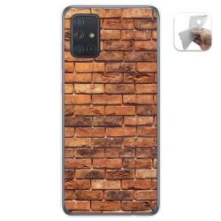 Funda Gel Tpu para Samsung Galaxy A71 5G diseño Ladrillo 04 Dibujos
