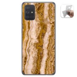 Funda Gel Tpu para Samsung Galaxy A71 5G diseño Mármol 10 Dibujos