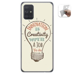 Funda Gel Tpu para Samsung Galaxy A71 5G diseño Creativity Dibujos