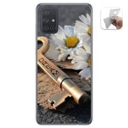 Funda Gel Tpu para Samsung Galaxy A71 5G diseño Dream Dibujos