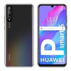 Funda Silicona Gel TPU Transparente para Huawei P Smart S / Y8p