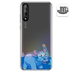 Funda Gel Transparente para Huawei P Smart S / Y8p diseño Hipo Dibujos