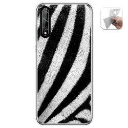 Funda Gel Tpu para Huawei P Smart S / Y8p diseño Animal 02 Dibujos