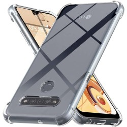 Funda Gel Tpu Anti-Shock Transparente para Lg K41s