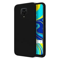 Funda Silicona Líquida Ultra Suave para Xiaomi Redmi Note 9S / Note 9 Pro color Negra