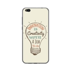 Funda Gel Tpu para Xiaomi Mi 5C Diseño Creativity Dibujos