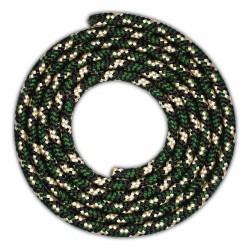Funda Colgante Transparente para Lg K41s con Cordon Verde / Dorado