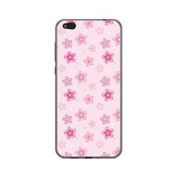 Funda Gel Tpu para Xiaomi Mi 5C Diseño Flores Dibujos