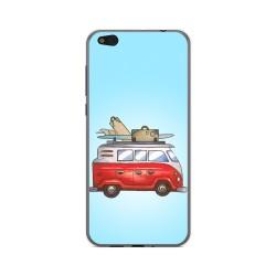Funda Gel Tpu para Xiaomi Mi 5C Diseño Furgoneta Dibujos