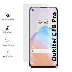 Protector Cristal Templado para Oukitel C18 Pro Vidrio
