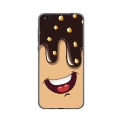 Funda Gel Tpu para Xiaomi Mi 5C Diseño Helado Chocolate Dibujos