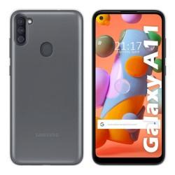 Funda Silicona Gel TPU Transparente para Samsung Galaxy A11