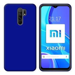 Funda Silicona Gel TPU Azul para Xiaomi Redmi 9