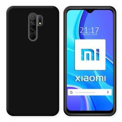 Funda Silicona Gel TPU Negra para Xiaomi Redmi 9