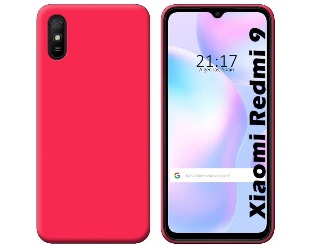 Funda Silicona Gel TPU Rosa para Xiaomi Redmi 9A