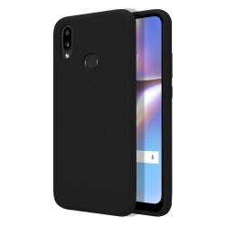 Funda Silicona Líquida Ultra Suave para Samsung Galaxy A10s color Negra
