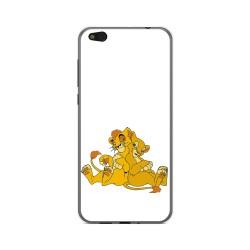 Funda Gel Tpu para Xiaomi Mi 5C Diseño Leones Dibujos