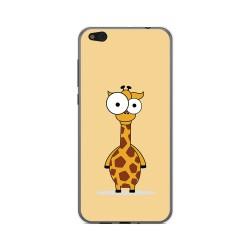 Funda Gel Tpu para Xiaomi Mi 5C Diseño Jirafa Dibujos