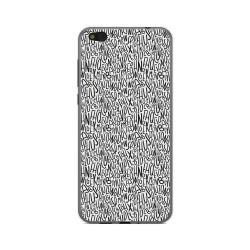 Funda Gel Tpu para Xiaomi Mi 5C Diseño Letras Dibujos