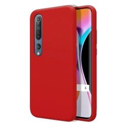 Funda Silicona Líquida Ultra Suave para Xiaomi Mi 10 / Mi 10 Pro color Roja