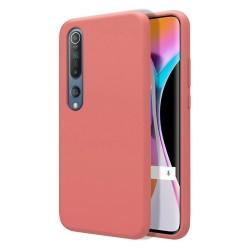 Funda Silicona Líquida Ultra Suave para Xiaomi Mi 10 / Mi 10 Pro color Rosa