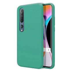 Funda Silicona Líquida Ultra Suave para Xiaomi Mi 10 / Mi 10 Pro color Verde
