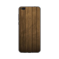 Funda Gel Tpu para Xiaomi Mi 5C Diseño Madera Dibujos