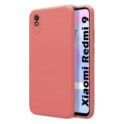 Funda Silicona Líquida Ultra Suave para Xiaomi Redmi 9A color Rosa