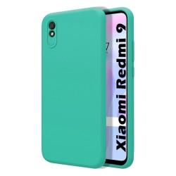Funda Silicona Líquida Ultra Suave para Xiaomi Redmi 9A / 9AT color Verde