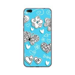 Funda Gel Tpu para Xiaomi Mi 5C Diseño Mariposas Dibujos