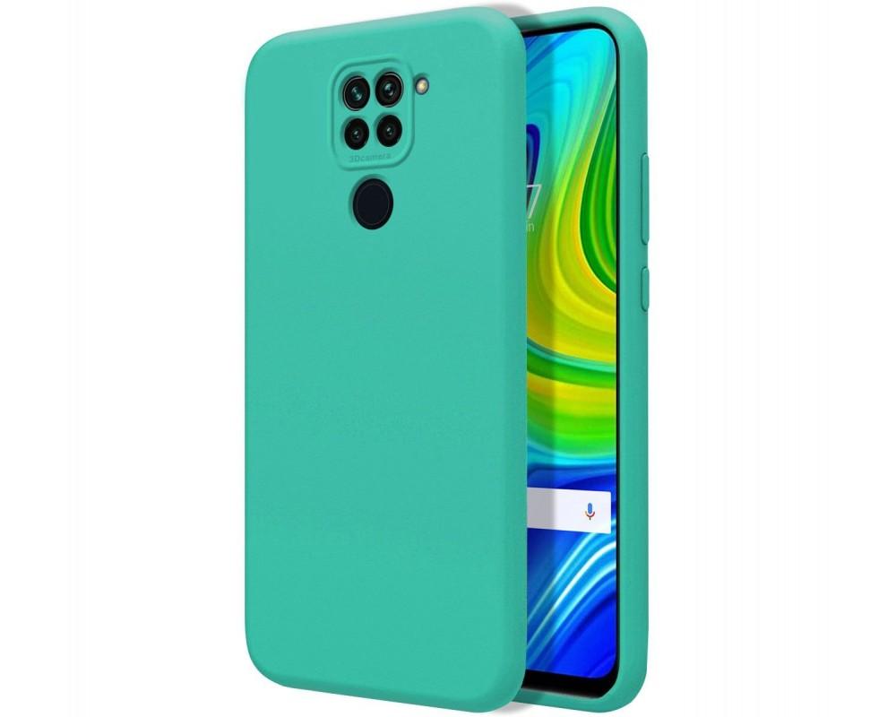 Funda Silicona Líquida Ultra Suave para Xiaomi Redmi Note 9 color Verde