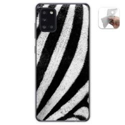 Funda Gel Tpu para Samsung Galaxy A31 diseño Animal 02 Dibujos