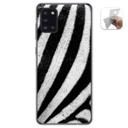 Funda Gel Tpu para Samsung Galaxy A31 diseño Animal 02 Dibujos