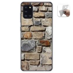 Funda Gel Tpu para Samsung Galaxy A31 diseño Ladrillo 03 Dibujos