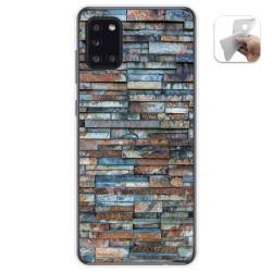 Funda Gel Tpu para Samsung Galaxy A31 diseño Ladrillo 05 Dibujos