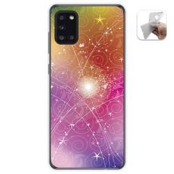 Funda Gel Tpu para Samsung Galaxy A31 diseño Abstracto Dibujos