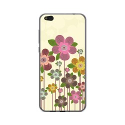 Funda Gel Tpu para Xiaomi Mi 5C Diseño Primavera En Flor  Dibujos