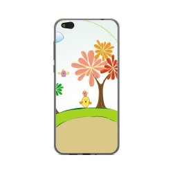 Funda Gel Tpu para Xiaomi Mi 5C Diseño Primavera Dibujos